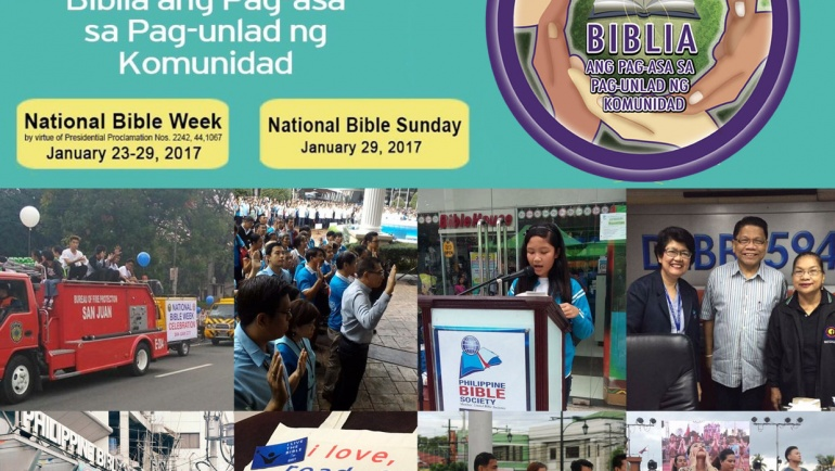 National Bible Week Observed in Communities Nationwide