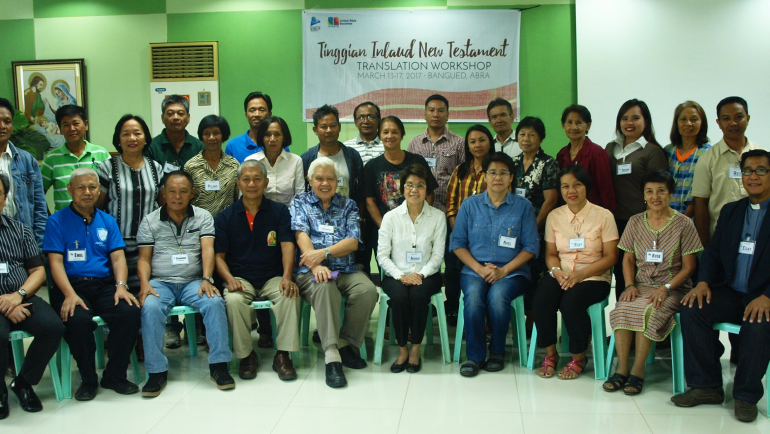 Tinggian Community Comes Together for Translation Workshop