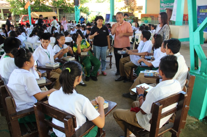 Word Riders Return to Bataan