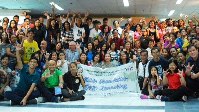 New set of Bible stories in Filipino Sign Language launched
