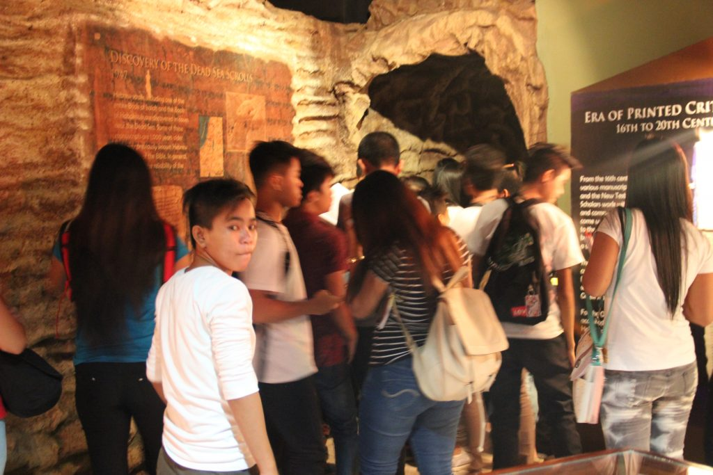 ALS Students Visits the Bible Museum