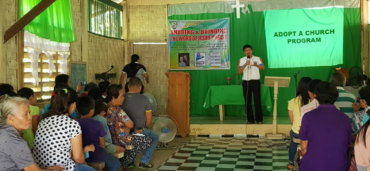 On Fire for the Lord: Adopt a Church Discipleship Training in Davao