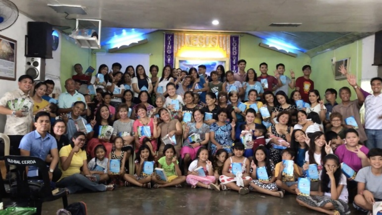 Excited to Start, Ready to Grow:  Adopt a Church Bible Distribution