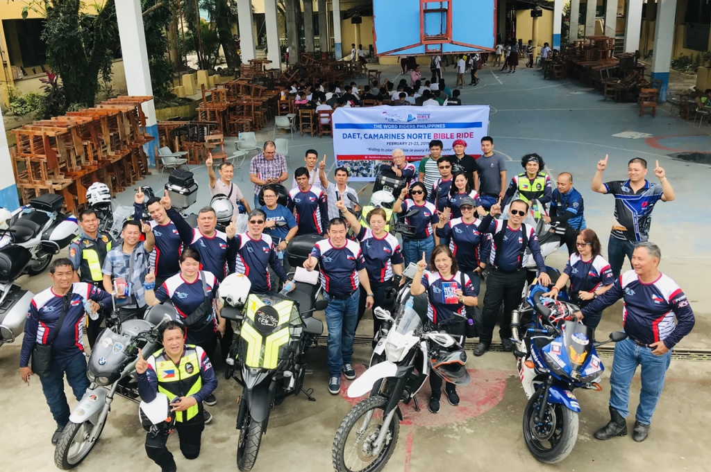 Daet WRP Ride 1 - Philippine Bible Society