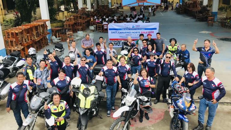 The Word Riders Bring The Pinoy NT to Camarines Norte