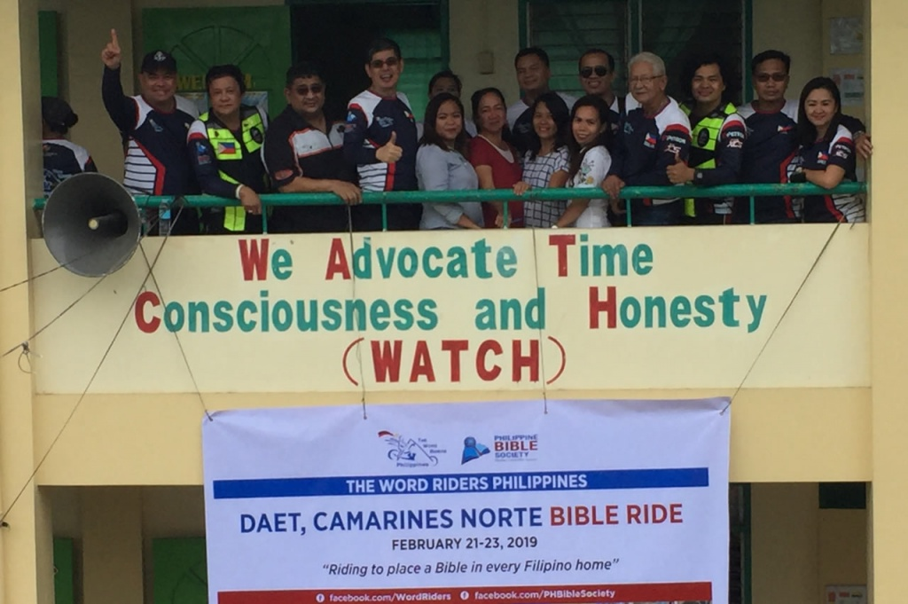 Daet WRP Ride2 - Philippine Bible Society
