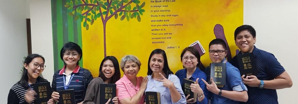 Jan PBS Trauma Healing training 1 - Philippine Bible Society