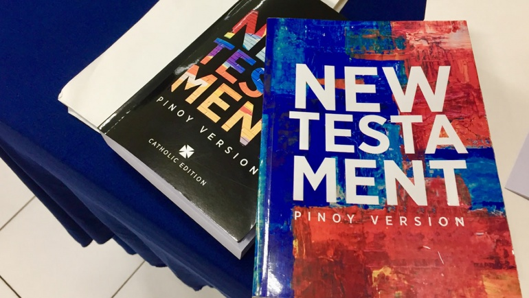PBS STATEMENT ON THE PINOY VERSION NEW TESTAMENT