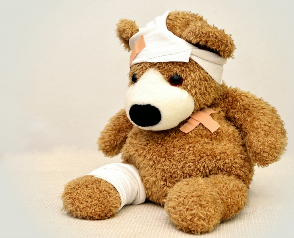 brown and white bear plush toy 42230 - Philippine Bible Society