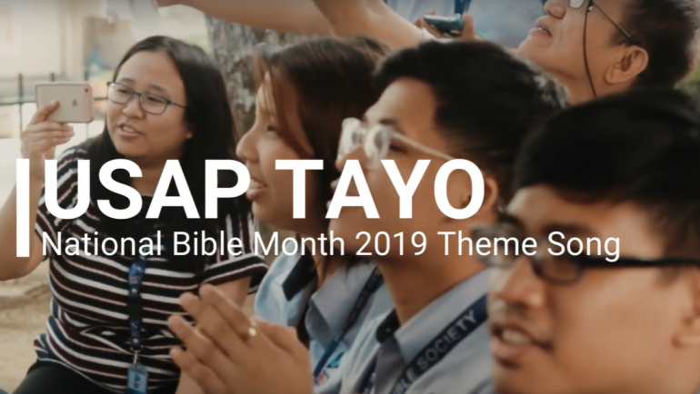 Groove and Give Glory to God with National Bible Month 2019's Theme Song
