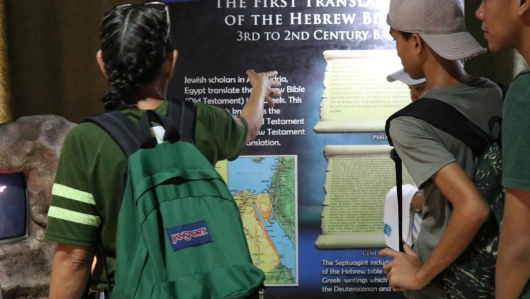 A Friday Made Fun: Back-to-back Bible Museum Tours at PBS