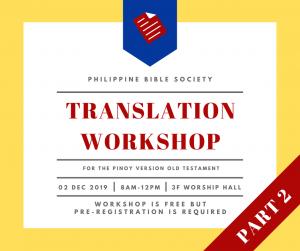 1 - Philippine Bible Society