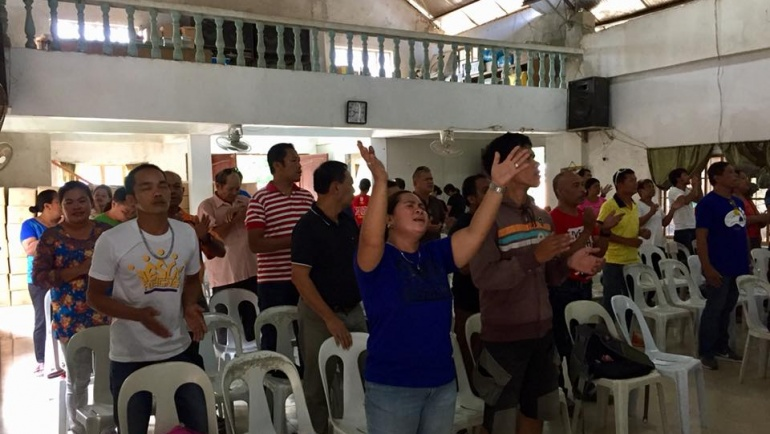 PBS Adopt a Church Program (AACP) in Toledo City, Cebu!