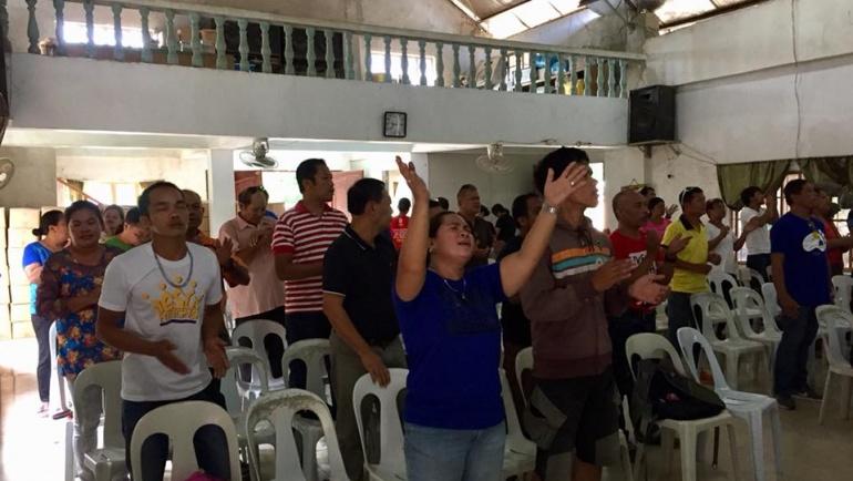 PBS Adopt a Church Program (AACP) in Toledo City, Cebu!