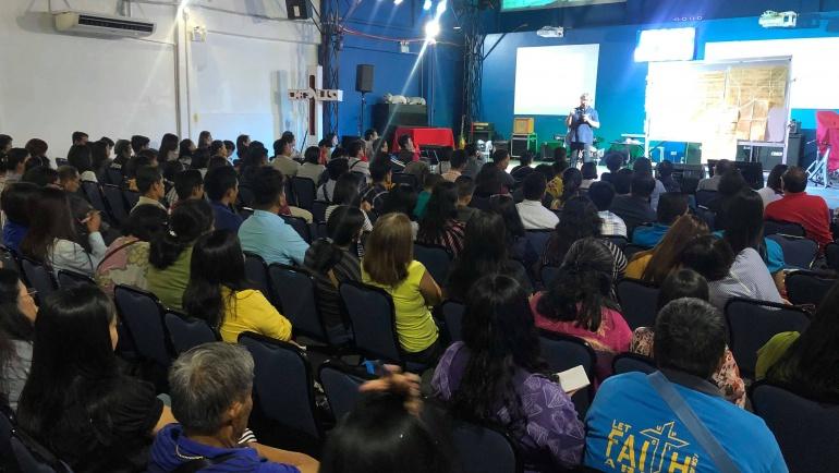 Adopt a Church Program in Laoag City