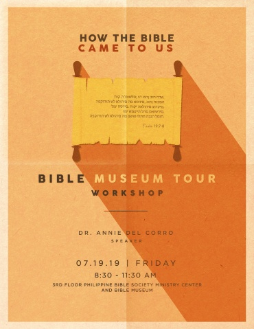 Open to All: Bible Museum Tour Workshop Slots Filled in Less than a Week
