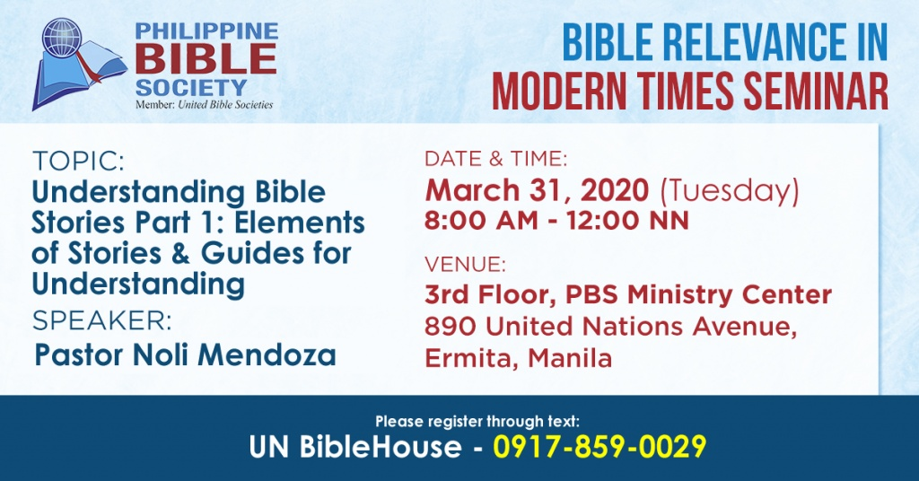 BRIMS March31 - Philippine Bible Society