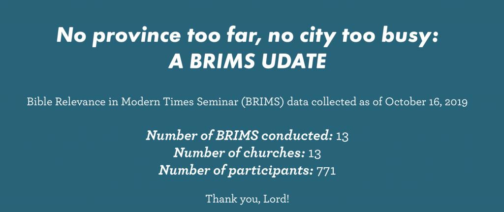 Brims praises - Philippine Bible Society