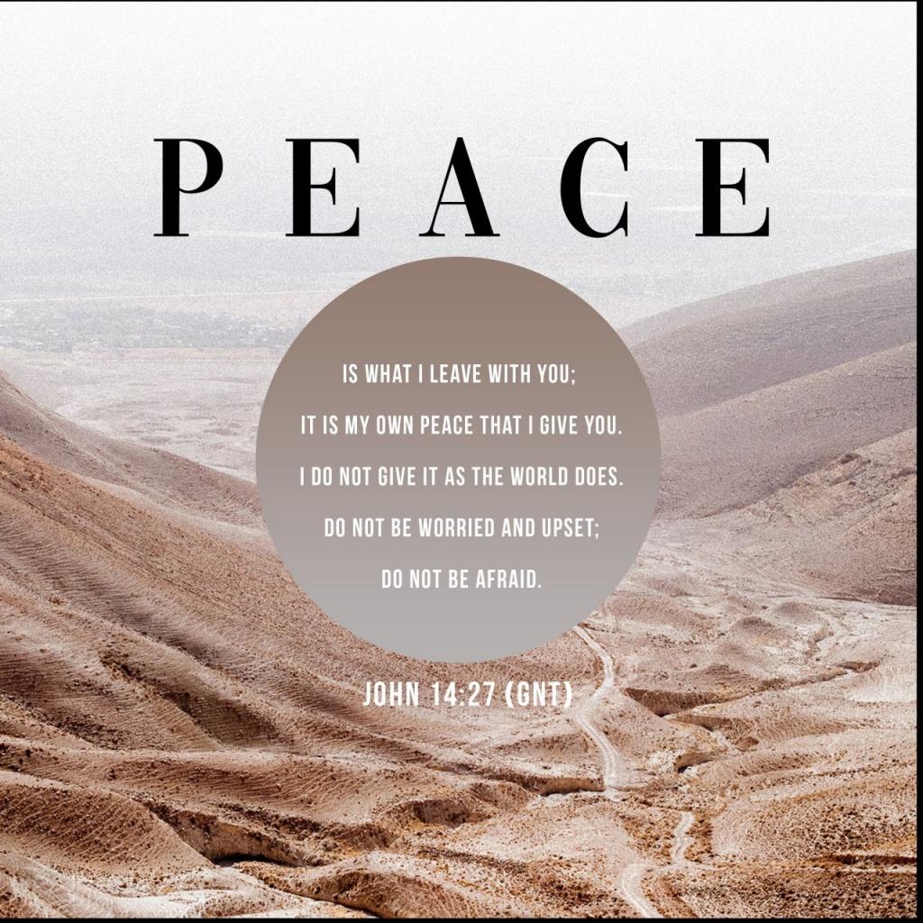 John 14 27 - Philippine Bible Society