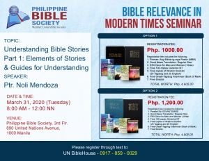 March 31 copy - Philippine Bible Society