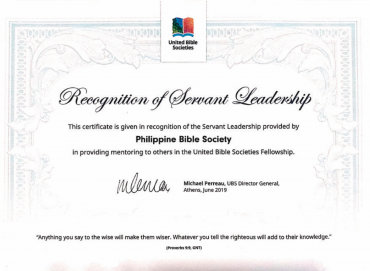 Service with a Smile: PBS Receives Award at UBS Global Roundtable Exchange Meeting