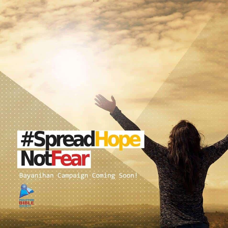 SpreadHopeNotFear - Philippine Bible Society