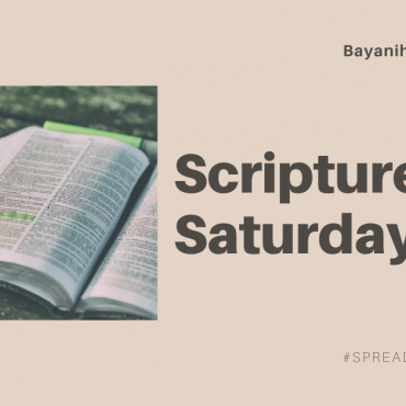 Scriptures Saturday
