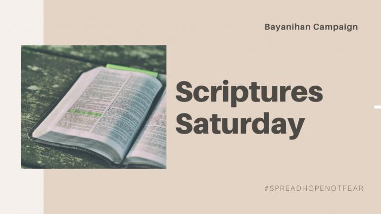 Saturday Scriptures