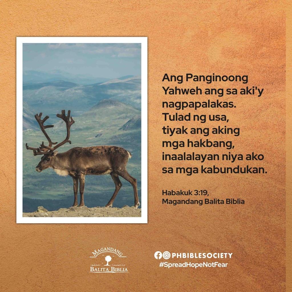 Habakuk 3 19 - Philippine Bible Society