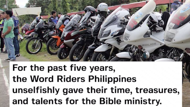 5 Years of Riding to Place a Bible in Every Home