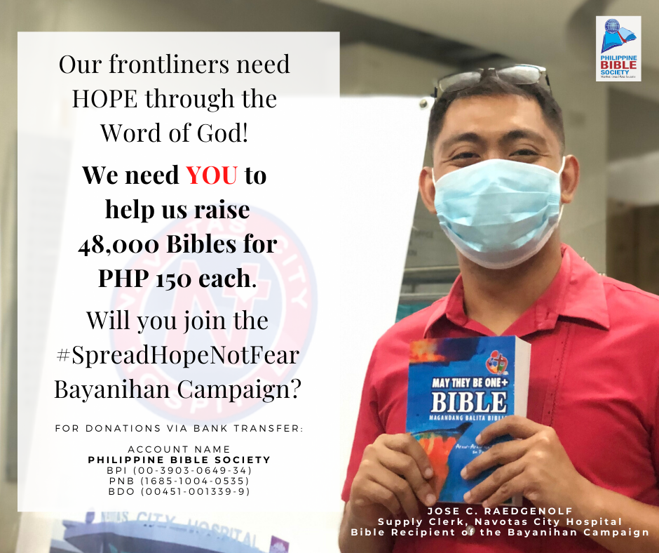 thanksgiving thursday pic - Philippine Bible Society
