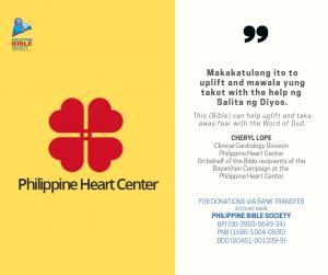 Cheyl Lope - Philippine Bible Society