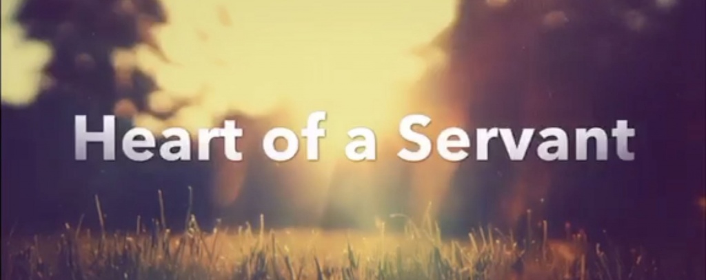 Heart of a servant - Philippine Bible Society