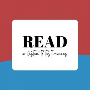 Read Testimonies - Philippine Bible Society