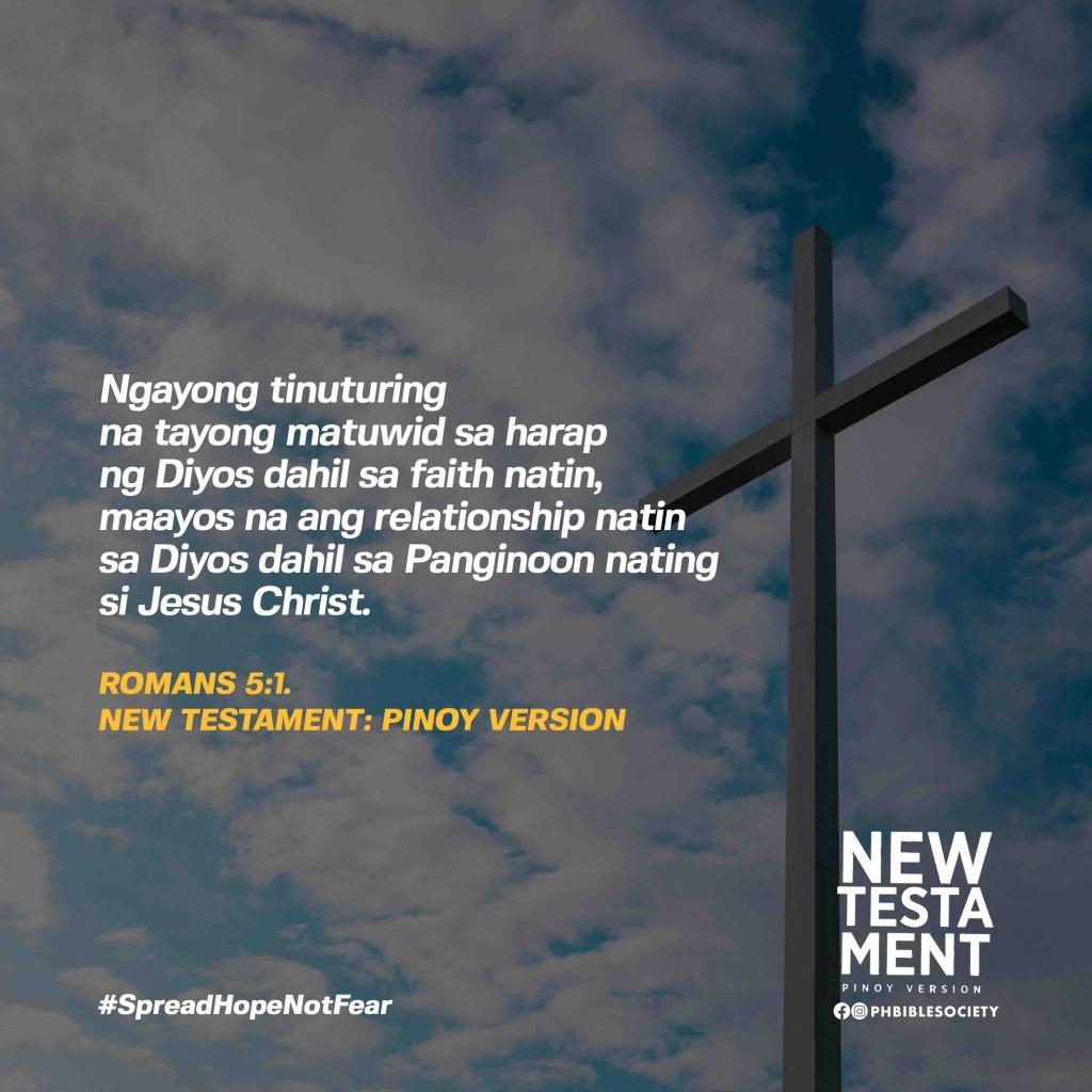 Rom 5.1 - Philippine Bible Society
