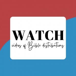Watch Distribution - Philippine Bible Society