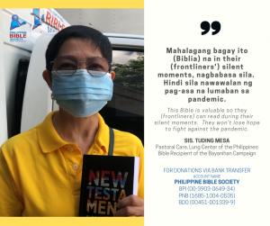 sis tuding mesa - Philippine Bible Society