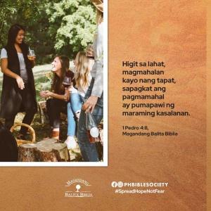 1 Pedro 4 8 - Philippine Bible Society
