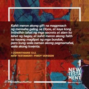 1 cor 132 - Philippine Bible Society