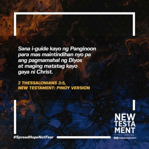 2 Thessalonians 3 5 PVNT - Philippine Bible Society