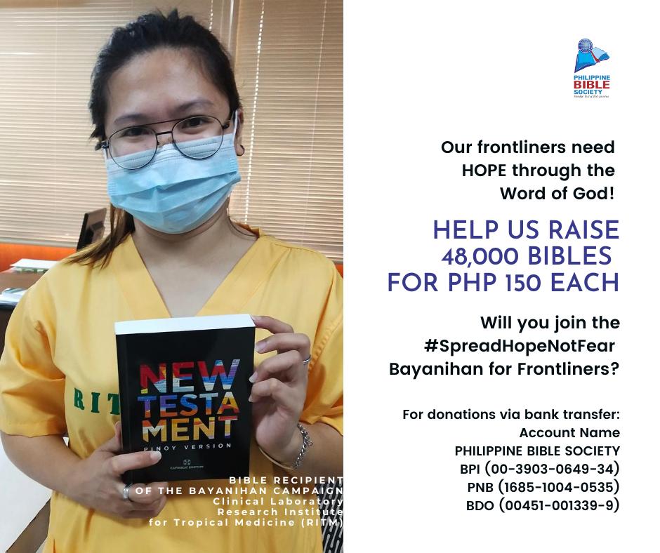 Thursday November 12 - Philippine Bible Society