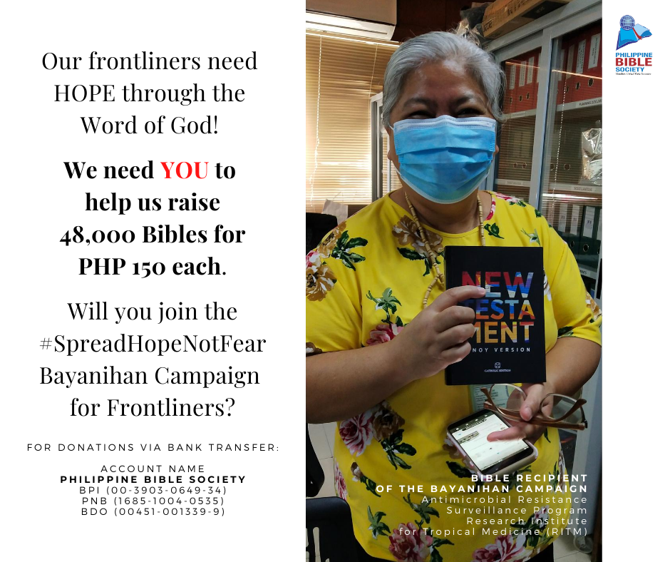 Thursday November 26 - Philippine Bible Society