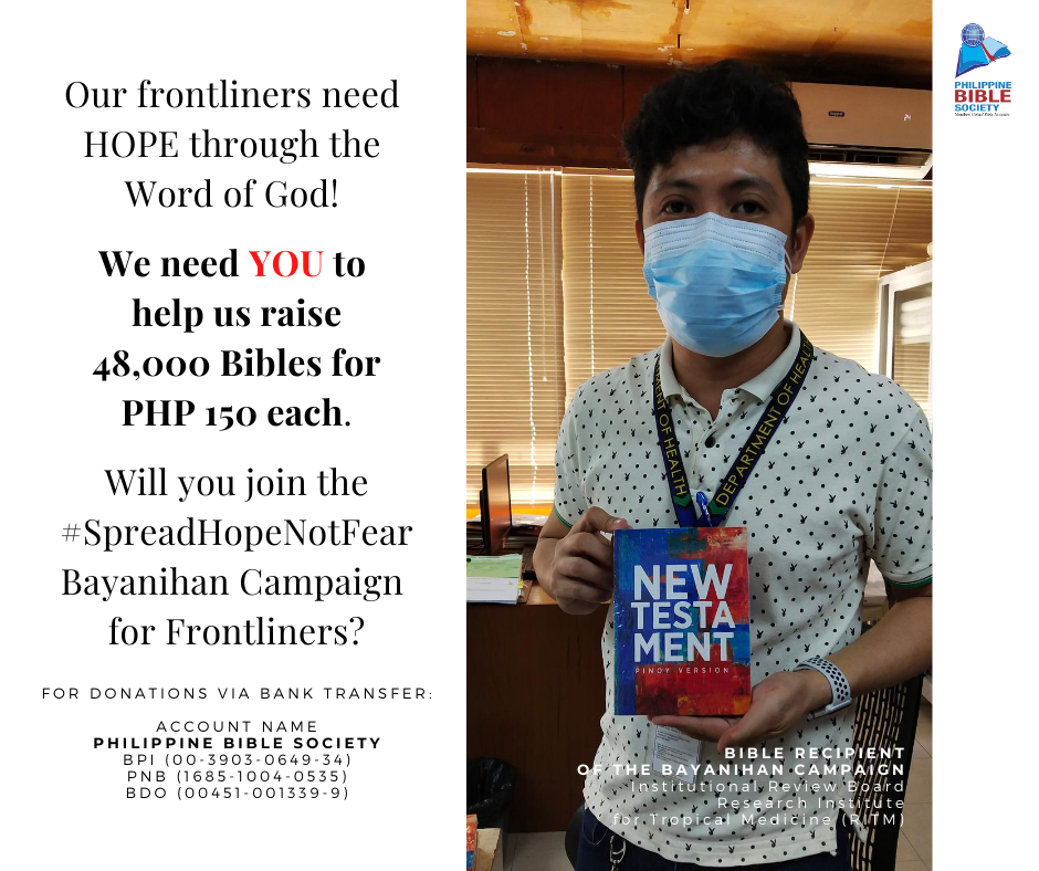 Thursday November 5 - Philippine Bible Society