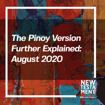 The Pinoy Version Further Explained: August 2020[1]