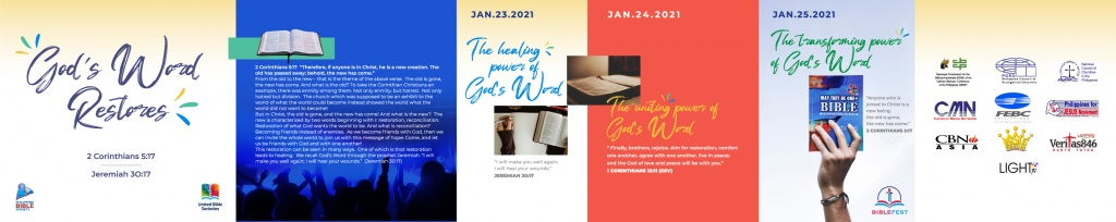 GOds Words Restores Event outline Revised2 - Philippine Bible Society