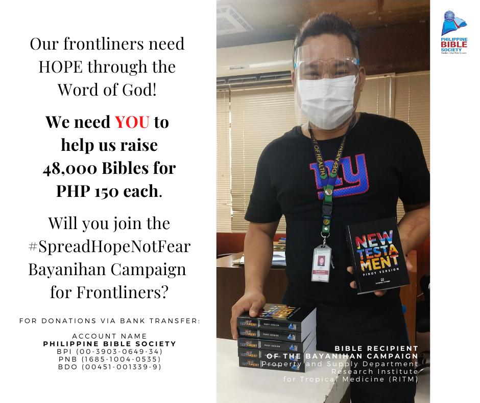 Thursday December 10 - Philippine Bible Society