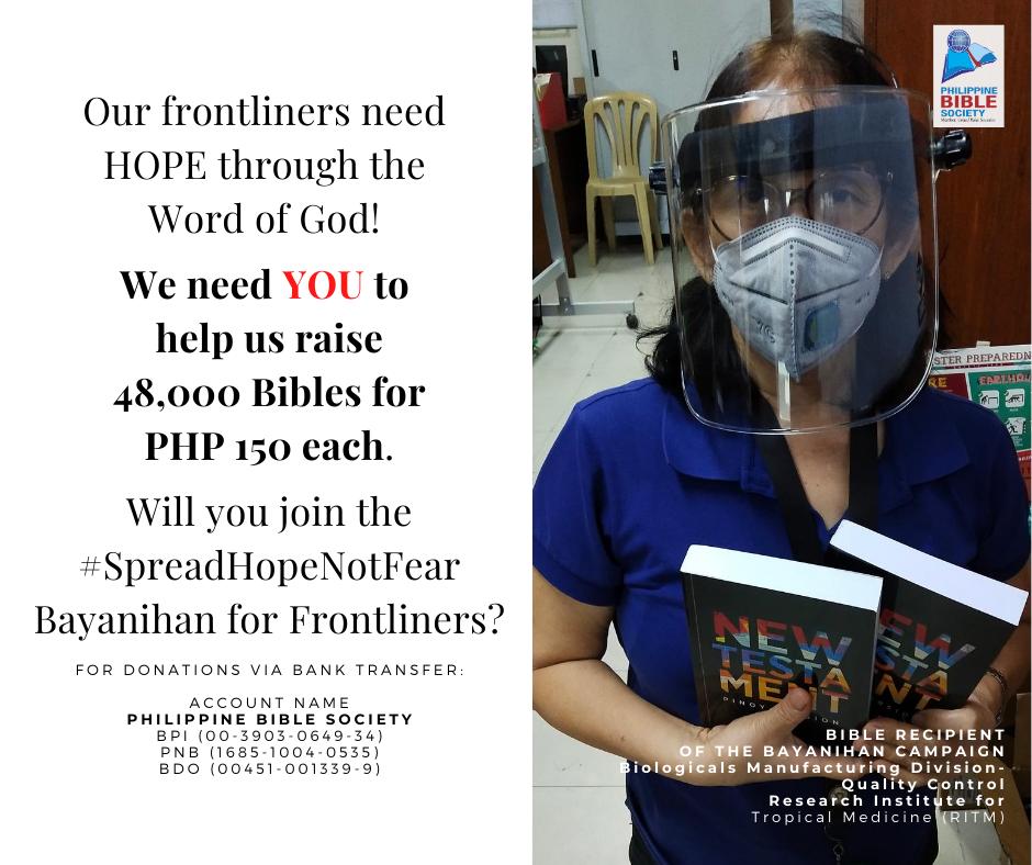 Thursday December 3 - Philippine Bible Society